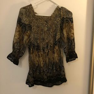 Crinkled blouse